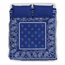 Royal Blue Bandana Bedding Sets