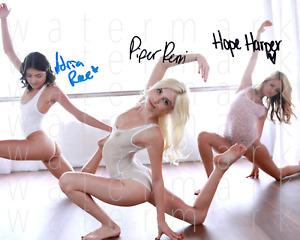 Hope Harper Piper Perri Adria Rae sexy hot 8x10 print photo poster autograph RP