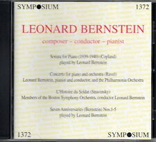 BERNSTEIN - COPLAND - SONATA FOR PIANO - RAVEL - CONCERTO - SYMPOSIUM - SEALED