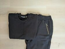 COUNTRY ROAD LADIES BLACK ZIP DETAIL JUMPER & TRACKPANTS size XL