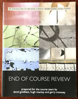 Open University – An Introduction To Social Sciences: End Of Course Review