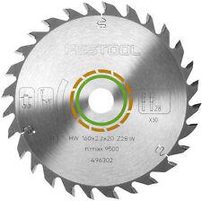 Festool ATF 55 universel-Lame de scie 160x2,2x20 w28 496302 pour ts55 NEUF ORIGINAL