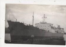 Merchant Ship Hong Kong Plain Back Shipping Photo Card 673a