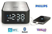 Philips Premium Bluetooth Speaker with Clock Radio - NFC - 6W RMS