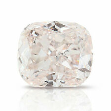 0.86 Carat Very Light Pink GIA Certified Loose Diamond Natural Color Cushion