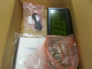 Spectracom TimeView TV400W Display Clock TV400U No Power Supply