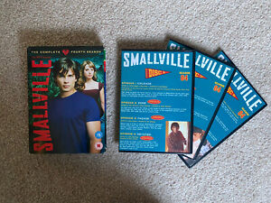 Smallville - Series 4 - Complete (DVD, 2005, 6-Disc Set)