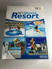 Wii Sports Resort Wii Motion Plus Adapter In Big Box Nintendo Game CIB