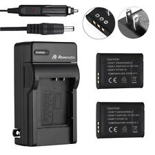 2x 1400mAh LI-50B Battery + Charger for Olympus SZ-10 SP-720UZ SP-800UZ SP-810UZ