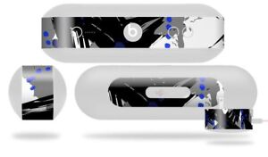 Skin for Beats Pill Plus Abstract 02 Blue Decal Wrap
