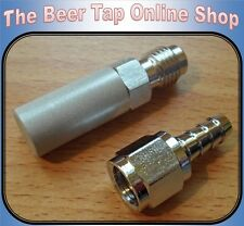 Carbonation Aeration Diffusion Oxygen Stone 2.0 Micron. Homebrew, Corny Beer Keg