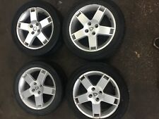 "ROVER STREETWISE / 25 / MGZR 16"" ALLOY WHEELS -  2 GOOD 2 BAD TYRES 205/50/R16"