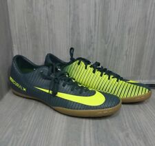 Nike Mercurial Victory X CR7 Soccer Shoes Indoor Mens Size 11 Green Gray Ronaldo
