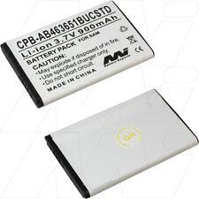 AB463651BUCSTD 900mAh battery for Samsung C5220 S5510T S5511T S5511 S5620