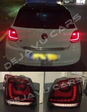 OEM VW Polo 6R 6C FULL LED Rückleuchten kirschrot 2009-2017 FULL LED Tail lights