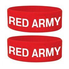 Gummi Armband RED ARMY  ca65x24mm NEU Wristband