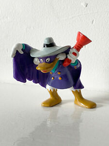 "DARKWING DUCK vintage solid PVC action figure figurine 3"" Disney"