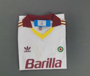 AS Roma Away Football Shirt 1991 Retro Jersey S-XXL