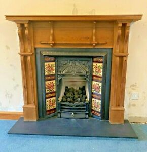 Beautiful Cast Iron Fireplace - Open to offers