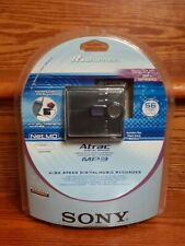 Sony Mz-Ne410 High Speed Digital Music Recorder Walkman Atrac Digital Sound New