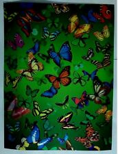 butterfly 3D Lenticular raster Holographic Stereoscopic Picture Wall Art