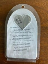 Forever Loved - Silver Memorial Wish Tokens