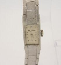 Lucien Piccard 14K White Gold Vintage Ladies Watch, 21.4 Grams Not Scrap