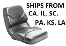 ORIGINAL MICHIGAN FORKLIFT SEAT Model V-830 V830  VINYL FORK TRUCK CHAIR GENUINE