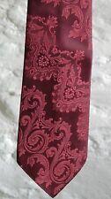 Men's YARNS Vintage Jacquard Tie - Red