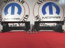 DODGE RAM 1500 Front Bumper Tow Hook Bezel Kit NEW OEM MOPAR