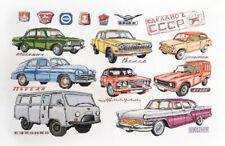 Cross Stitch Kit MARYA ISKUSNITSA (MARY WEAVER) - Soviet Automobile Industry