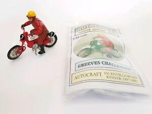 1/32 scale 54mm Greeves Challenger motorcycle / motorbike metal model kit