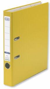 Elba Ordner Smart original A4 50mm Papiereinband schwarz Ringbuch Ringmappe