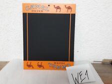 Alte CAMEL Werbetafel Schreibtafel Camel Filter Größe ca 32 x 25 cm  (101)