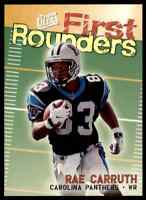 1997 FLEER ULTRA FIRST ROUNDERS RAE CARRUTH RC #2 OF 12FR INSERT PANTHERS