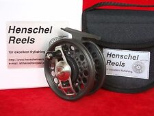 HENSCHEL DUAL MODE # 2, 7-8, saltwater fly reel = Anti Reverse + Direct Drive