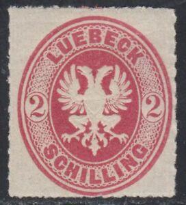 Lübeck Nr. 10 A ** postfrisch geprüft BPP