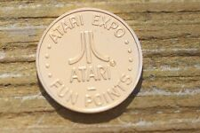 Vintage Brassy RWM 1980 Atari Expo Fun Points Trade Token