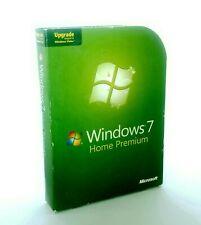 Microsoft Windows 7 Home Premium Upgrade 32/64-Bit [Old Version] + Product Key