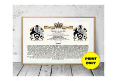 A4 Surname Family 1st Name Meaning History Origin Print Coat of Arms Personalise