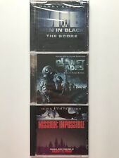 Men in Black/Planet Of The Apes/Mission Impossible Movie Soundtrack Cd's!