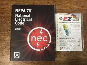 2020 NFPA 70 National Electrical Code NEC Handbook Paperback Softbound w/EZ Tabs