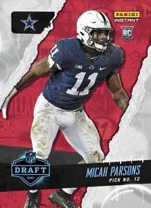 2021 Panini Instant Draft Night Micah Parsons PRESALE