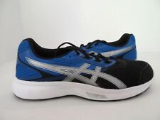 ASICS Men's Stormer Running-Shoes Imperial/Silver/Black Size 11