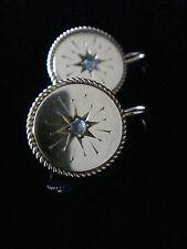 Exquisite Edwardian 18ct ORIGINALE Edwardian Diamond Orecchini-C