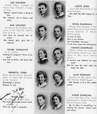 1937 Brooklyn NY Jefferson High School YB~ABL NBL BAA Celtics Dutch Garfinkel