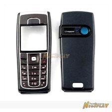 New Full Housing Cover Case Front + Back + Keypad For Nokia 6230 6230i Black