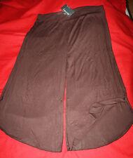 """jupe pantalon 46/48 brune ou noire """"cintre à cintre"""""""