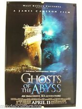GHOSTS OF THE ABYSS - Bill Paxton - SS - 2003 - Original movie poster