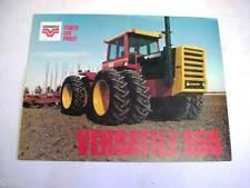 Versatile 555 4WD Tractor Color Sales Sheet !
